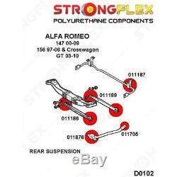 Alfa Romeo 147, 156, GT kit silentblocs bras de suspension arrière SPORT