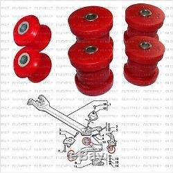 Alfa Romeo 166 Kit Silentbloc 2 bras suspension + 2 fusées arrière polyuréthane