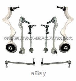 Avant Contrôle Rotule Bras Sway Bar Links Biellettes Kit Suspension pour BMW E90