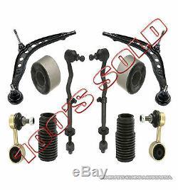 Bras Rotule Bague Barre de Liaison Tiges Bottes pour BMW E30 Kit Suspension 10