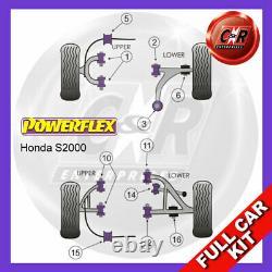 Honda S2000 99-04 RR Supérieur Fourchette Bras 35mm Powerflex Kit Complet N°