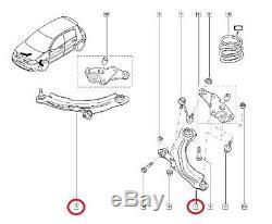 Jeu De Bras Triangles De Suspension Renault Megane II 2.0 Rs (kit D'origine)