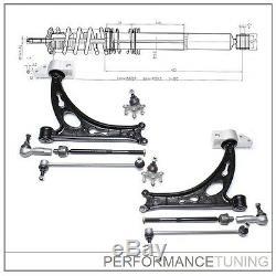 Kit -10 pcs- Bras de Suspension Avant, Gauche + Droite VW GOLF 6 + CABRIO