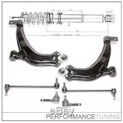Kit -6 pcs- Bras de Suspension Avant, Gauche + Droite PEUGEOT 306 (Toutes)