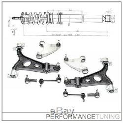 Kit -8 pcs- Bras de Suspension Avant, Gauche + Droite ALFA ROMEO 147 / 156 /GT
