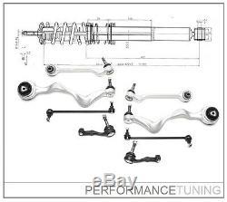 Kit -8 pcs- Bras de Suspension Avant, Gauche + Droite BMW Série 1 E81 E82 E88