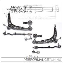 Kit -8 pcs- Bras de Suspension Avant, Gauche + Droite BMW Série 3 E30 + Z1
