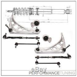Kit -8 pcs- Bras de Suspension Avant, Gauche + Droite BMW Série 3 E46 + Z4