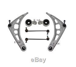 Kit Bras de Suspension, Essieu Avant, 6-teilig Pour BMW 3er E46 Commande Guidon