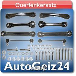Kit Bras de Suspension + Vis Arrière Mercedes W201 W202 W210 S210 S124 W124 R129