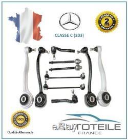Kit Bras de suspension 10 pièces MERCEDES CLK (A209, C209) de 02/2003 à 03/2010