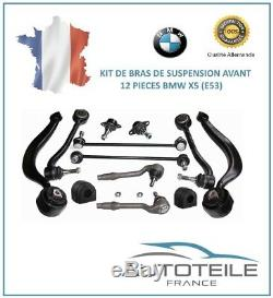 Kit Bras de suspension avant 12 pièces BMW X5 (E53) de 05/2000 à Aujourd'hui