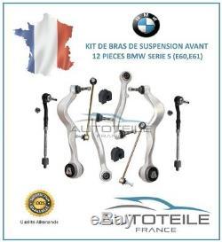 Kit bras de suspension 12 pièces BMW SERIE 5 TOURING (E61) de 06/2004 à 12/2010