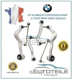Kit bras de suspension 6 pièces BMW SERIE 5 (E60) de 07/2003 à 03/2010
