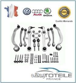 Kit bras de suspension AUDI A4 (B5) S4 et RS4 Quattro de 09/1997 à 09/2001