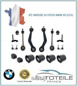 Kit bras de suspension arrière 16 pièces BMW X5 (E53) de 05/1999 à 05/2007