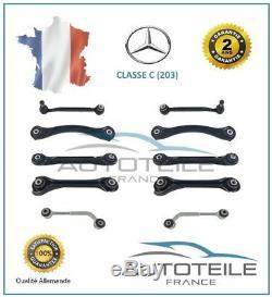 Kit de bras de suspension arrière 10 pièces MERCEDES CLASSE C (W203)