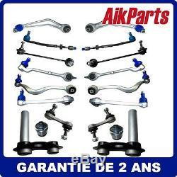 Kits Bras de Suspension Avant Arrière inclut 18pcs Pour BMW E39 525 528 530