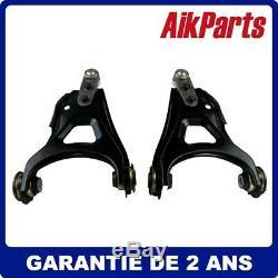 Kits de bras triangles suspension lisses avant pour Renault Kangoo 1998-2009