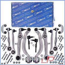 Meyle Kit Bras De Suspension Avant Complet 12 Pièces Audi A4 8e B6 8h B7 00-09