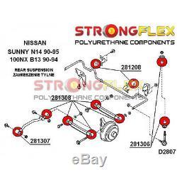 Nissan 100NX, Sunny, kit silent bloc de bras de suspension arrière SPORT