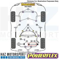 Powerflex Arrière Réglable Inférieur Contrôle Bras Kit BMW E46 3 Série 1999-2006