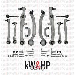 Set Bras de Suspension Audi A4 2000-2004 Kit Complet 12 Pièces (KW13001)
