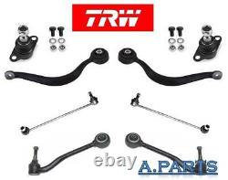TRW Kit Bras de Suspension 8TLG Essieu Avant Gauche et Droite BMW X5 E53